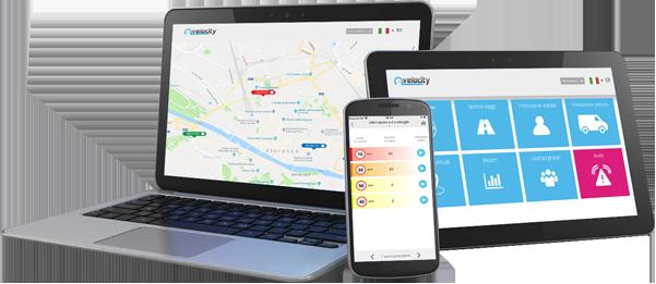 Gestione su flota online o en nuestra app